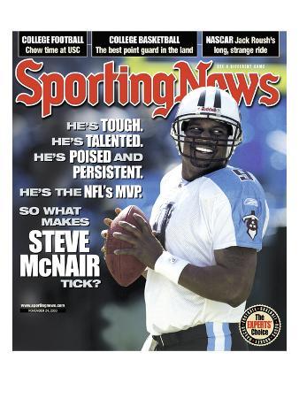 Tennessee Titans QB Steve McNair - November 24, 2003