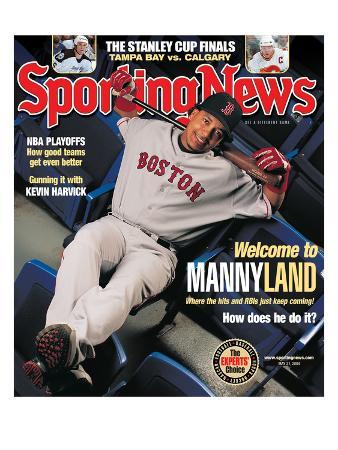 Boston Red Sox Manny Ramirez - May 31, 2004