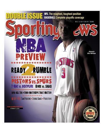 Detroit Pistons' Ben Wallace - October 18, 2004