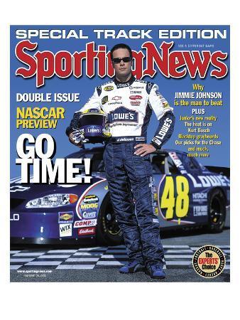 NASCAR's No. 48 Jimmie Johnson - February 25, 2005