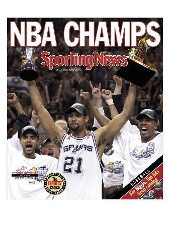 San Antonio Spurs - 2005 NBA Champs - July 8, 2005