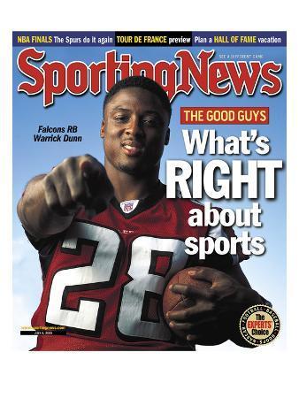 Atlanta Falcons RB Warrick Dunn - The Good Guys - July 8, 2005