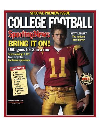 USC Trojans QB Matt Leinart - August 19, 2005