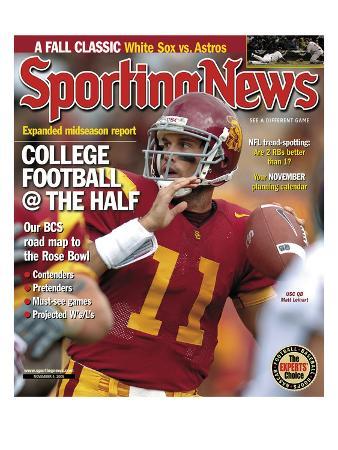 USC Trojans QB Matt Leinart - November 4, 2005