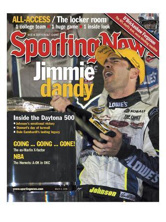 NASCAR's No. 48 Jimmie Johnson - Daytona 500 - March 3, 2006