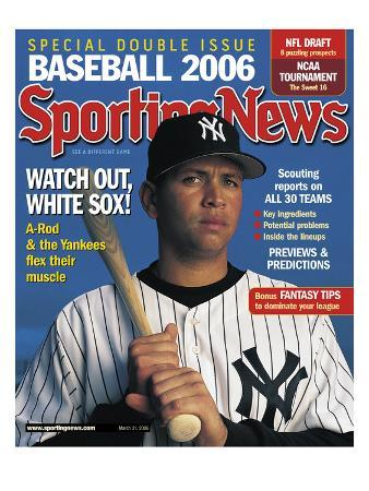 New York Yankees 3B Alex Rodriguez - March 31, 2006