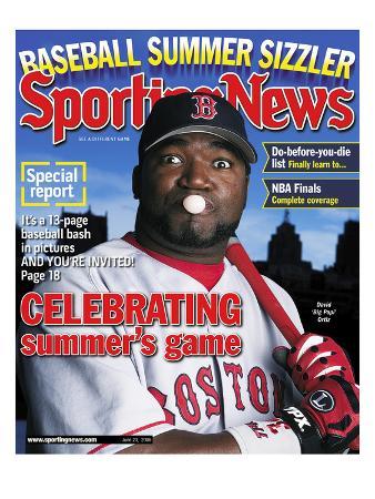 Boston Red Sox DH David Ortiz - June 23, 2006