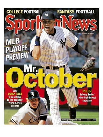 New York Yankees SS Derek Jeter - October 6, 2006