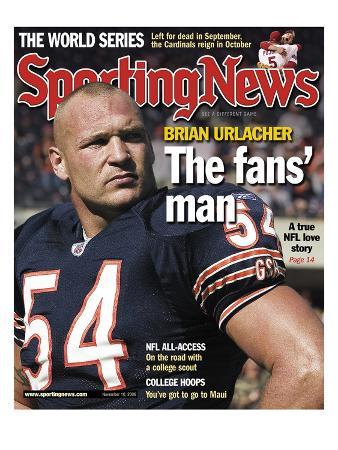 Chicago Bears' Brian Ulacher - November 10, 2006
