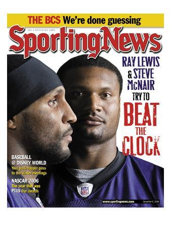 Baltimore Ravens Ray Lewis and Steve McNair - December 8, 2009