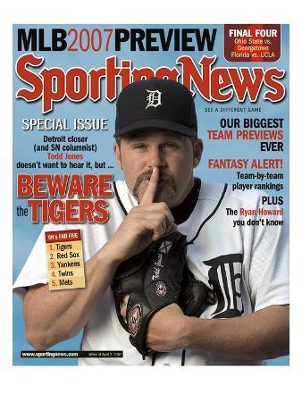 Detroit Tigers' Todd Jones - April 2, 2007