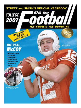 Texas Longhorns QB Colt McCoy - Yearbook - May 18, 2007