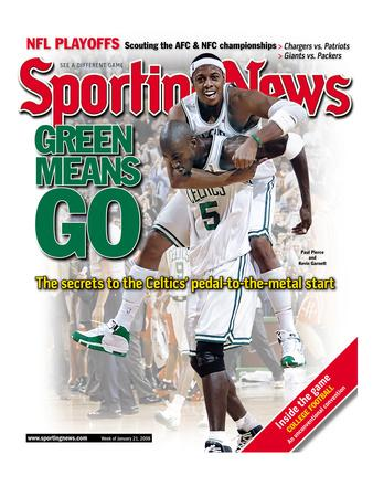 Boston Celtics Paul Pierce and Kevin Garnett - January 21, 2008