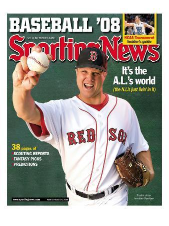 Red Sox Boston RP Jonathan Papelbon - March 17, 2008