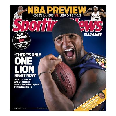 Baltimore Ravens LB Ray Lewis - October 26, 2009