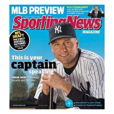 New York Yankees SS Derek Jeter - March 29, 2010