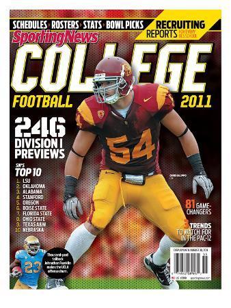 USC Trojans LB Chris Galippo - Yearbook - June 30, 2011