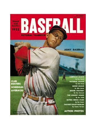 Sporting News Magazine, 1952 - Stan Musial - Batting Champion
