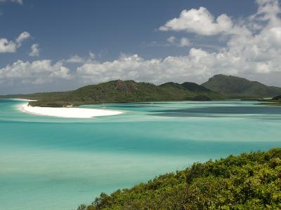 Whitehaven Beach and Hill Inlet, Whitsunday Island, Queensland, Australia, Pacific