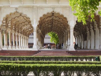 Diwan-I-Am (Hall of Public Audiences) in Agra Fort, Agra, Uttar Pradesh, India