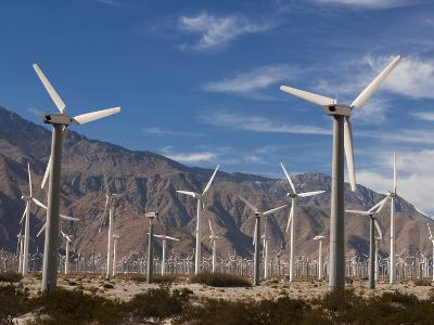 Wind Farm, Palm Springs, California, United States of America, North America