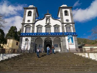 Nossa Senhora Do Monte Church, Monte, Above Funchal, Madeira, Portugal, Europe