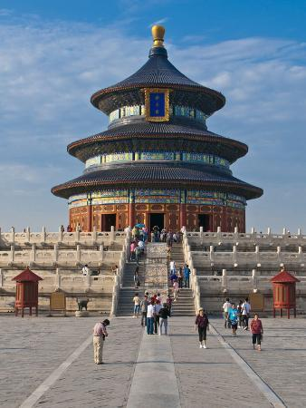 The Temple of Heaven, Bejing, China, Asia