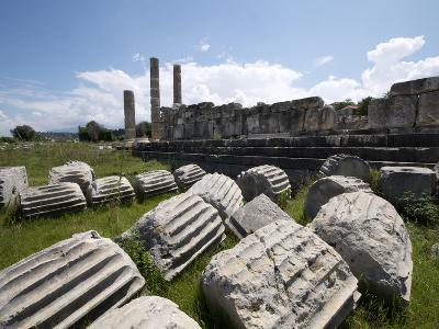 The Temple of Leto at the Lycian Site of Letoon, Antalya Province, Anatolia, Turkey