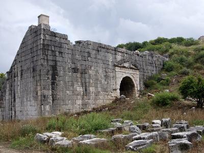 Amphitheartre at the Lycian Site of Letoon, Antalya Province, Anatolia, Turkey