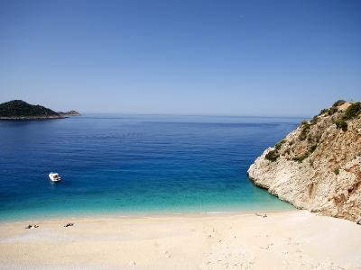 Kaputas Beach at Kalkan Area, Anatolia, Turkey, Asia Minor, Eurasia