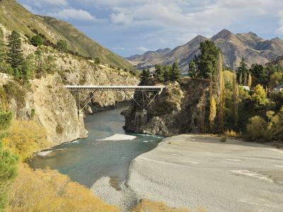 Hanmer River, Near Hanmer Springs, Canterbury, South Island, New Zealand, Pacific