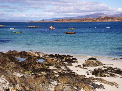 Small Boats, Isle of Iona, Inner Hebrides, Scotland, United Kingdom, Europe