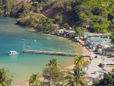 Pier at Pirate Bay, Charlotteville, Tobago, Trinidad and Tobago, West Indies, Caribbean