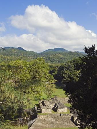Mayan Archeological Site, Copan Ruins, UNESCO World Heritage Site, Honduras, Central America