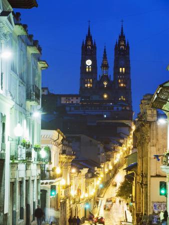 Gothic Basilica Del Voto Nacional, Old Town, UNESCO World Heritage Site, Quito, Ecuador