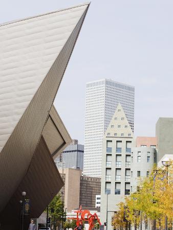 Downtown Denver Art Museum, Denver, Colorado, USA