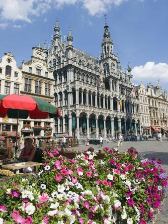 Guildhalls in the Grand Place, UNESCO World Heritage Site, Brussels, Belgium, Europe