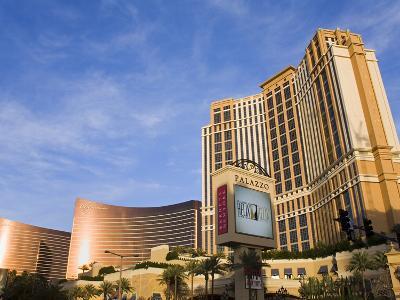 Palazzo, Encore and Wynn Casinos, Las Vegas, Nevada, United States of America, North America