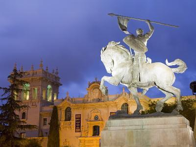 El Cid Statue and House of Hospitality in Balboa Park, San Diego, California