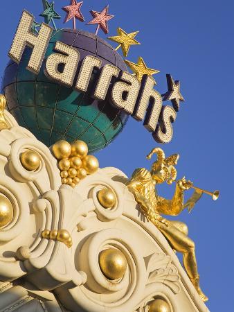Detail of Harrah's Casino, Las Vegas, Nevada, United States of America, North America