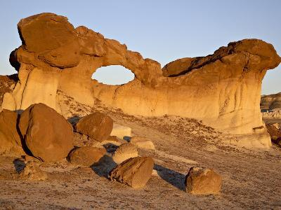 Bisti Arch, Bisti Wilderness, New Mexico, United States of America, North America