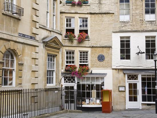 Sally Lunn's House, the Oldest House in Bath, Bath, Somerset, England,  United Kingdom, Europe