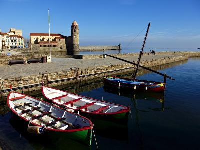 Collioure, Languedoc Roussillon, Cote Vermeille, France, Mediterranean, Europe