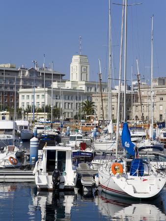 Yachts in Darsena Marina, La Coruna, Galicia, Spain, Europe