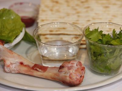 Passover Celebration Dishes, Paris, France, Europe