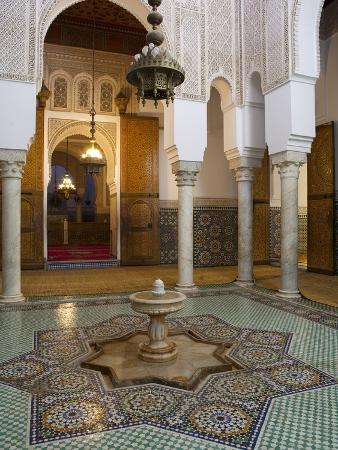 Mausoleum of Moulay Ismail, Meknes, UNESCO World Heritage Site, Morocco, North Africa, Africa