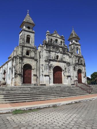 Iglesia De Guadalupe (Guadalupe Church), Originally a Fortress, Granada, Nicaragua, Central America