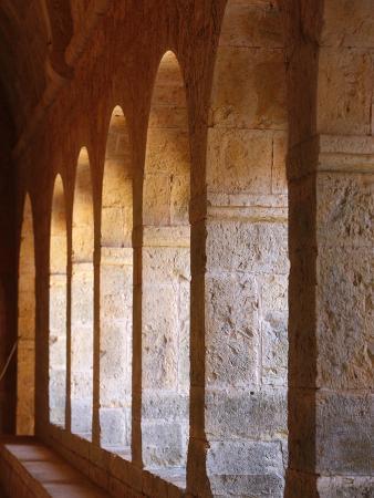 Thoronet Abbey Cloister, Thoronet, Var, Provence, France, Europe