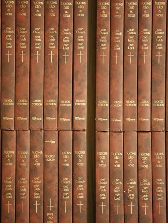 Anglican Hymn Books, London, England, United Kingdom, Europe