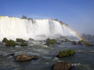 View of the Iguassu Falls From the Brazilian Side, Brazil, South America